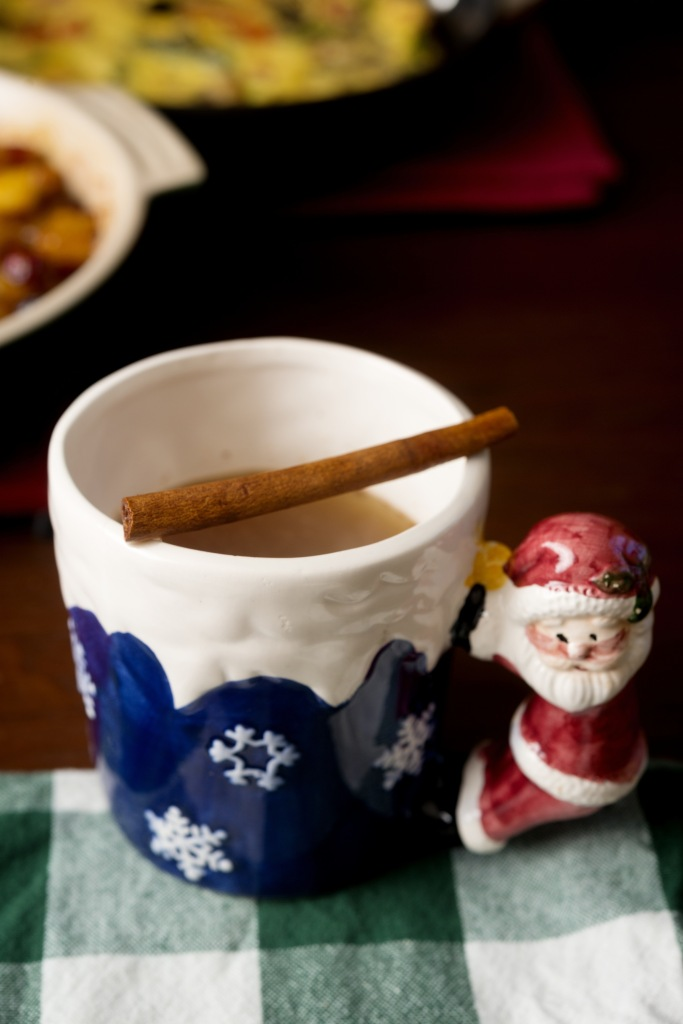 Warmed Mulled Apple Cider is made from a dry mix you can prepare in bulk.