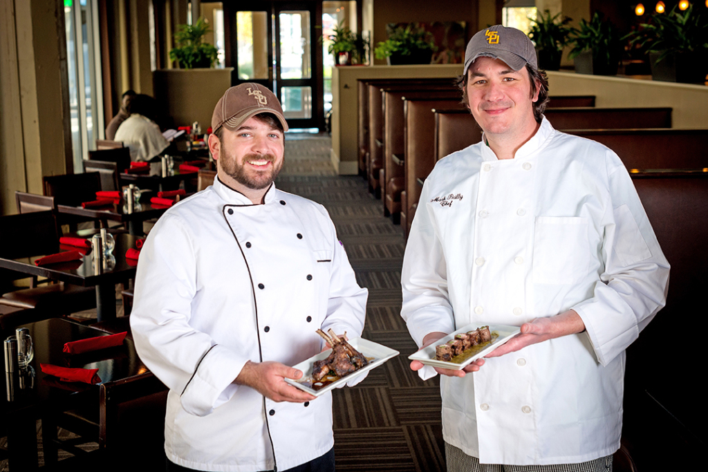 Stroubes' co-executive chefs Ross Ford and Mark Reilly.