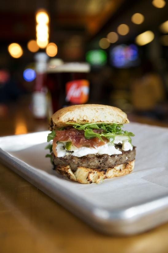 225 Fat Cow Napa Burger, Collin Richie Photo, 1.22.15
