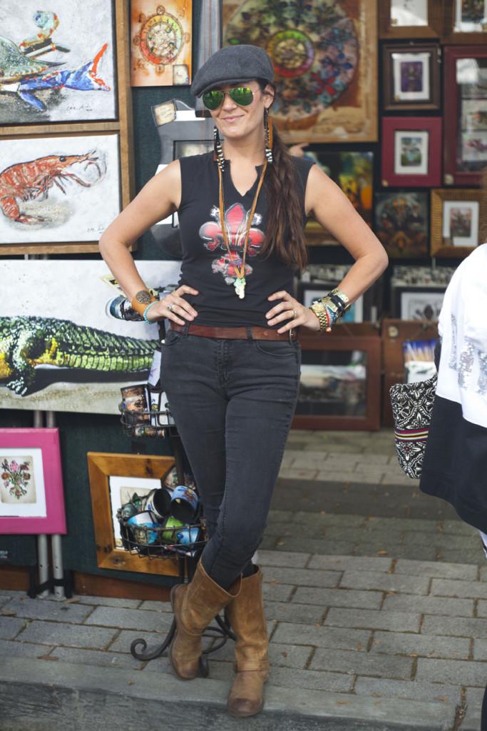 Jade Herrington poses during FestForAll