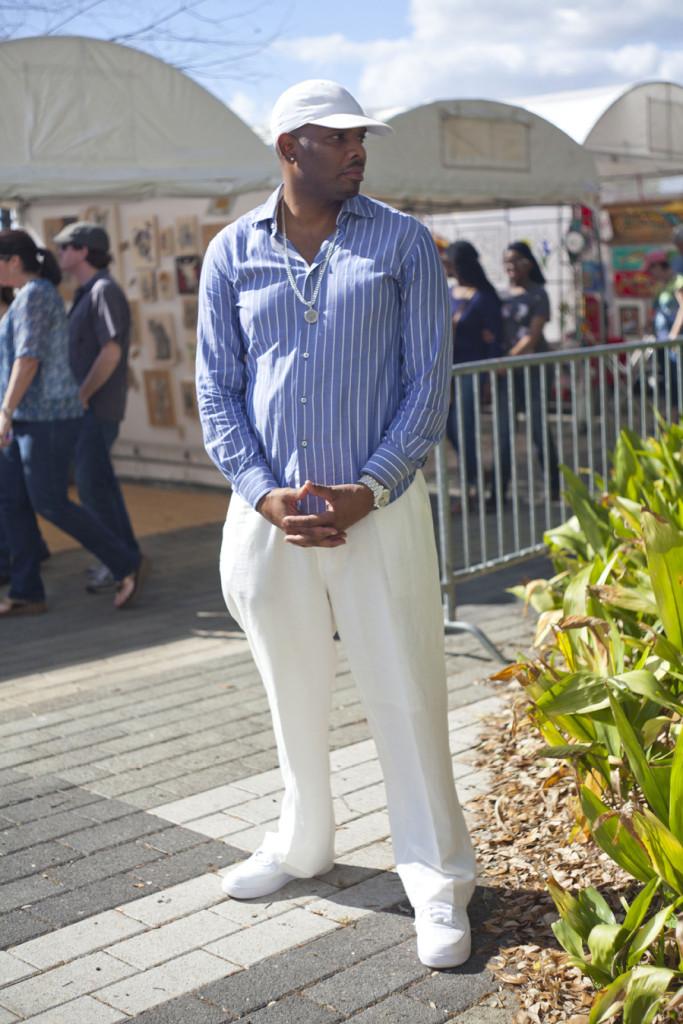 Rico Crowder poses during FestForAll