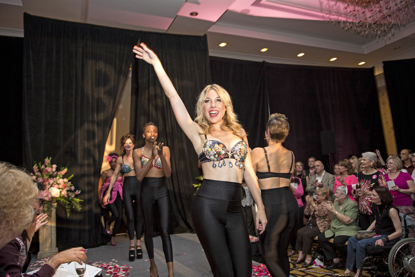 Foundation For Woman S Bra Art Fashion Show Aims To Help