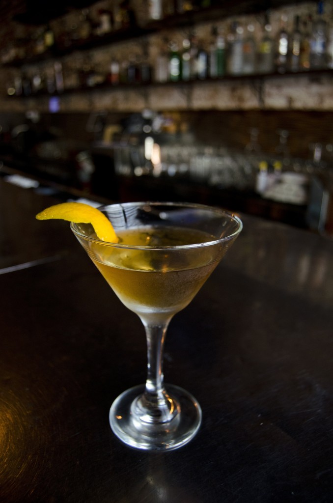 """""""Cry Me A River"""" Jalapeno tequila, agave nectar, lime juice and triple sec"""