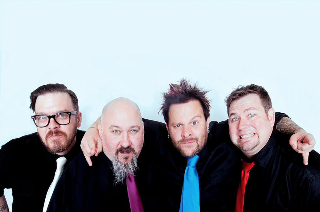 Bowling for Soup. Courtesy of the band