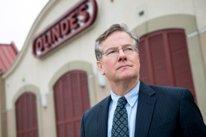 (Photo by Don Kadair) Tom Oline of Olinde's Furniture on Airline Highway