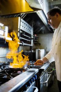 (Photo by Collin Richie) Chef Gino Sclafani