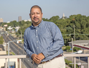 (Photo by Brian Baiamonte) Samuel Sanders, executive director, Mid City Redevelopment Alliance