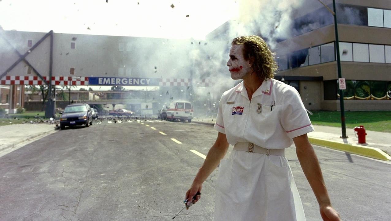 Heath Ledger The Dark Knight Nurse