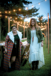 Lindsey Shiflett Smith and friend Leigh Ann Chatagnier produced the Farm to Fork event in the fall at Red Onion. Photo by Jenn Ocken.