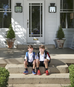 The Marantos' two sons, Mac and Sam, are not quite old enough to walk to their school, which is within the neighborhood.